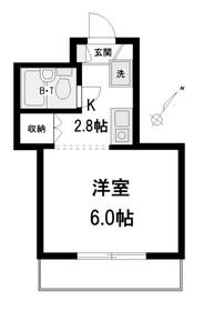 コーラルガーデン2階Fの間取り画像