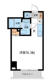 RJRプレシア新横浜 (旧アーバンパーク新横浜)2階Fの間取り画像
