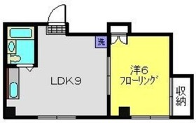 東神奈川駅 徒歩10分4階Fの間取り画像