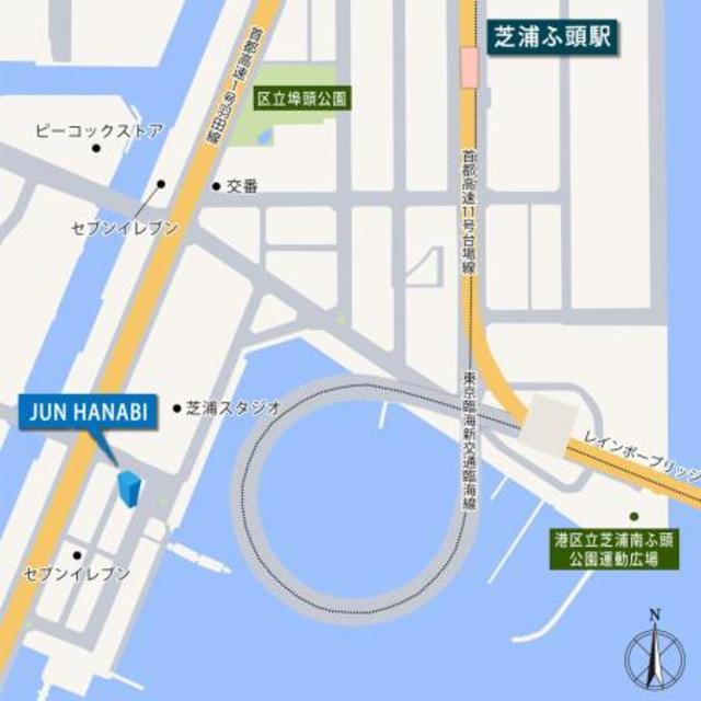 JUN HANABI案内図