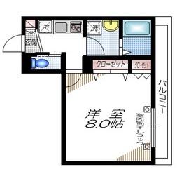 ドルチェガーデン東館3階Fの間取り画像