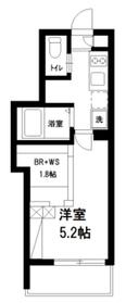 モンクレール石神井3階Fの間取り画像