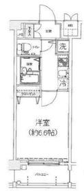 ドルチェ横浜・桜木町5階Fの間取り画像