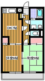 和光市駅 徒歩7分1階Fの間取り画像