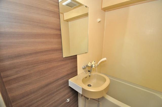リンクスイン東大阪Part2 小さいですが洗面台ありますよ