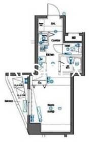 神田駅 徒歩3分2階Fの間取り画像