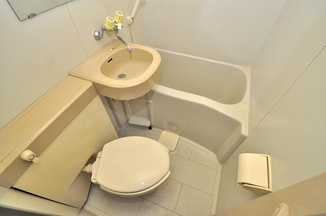 ヴィラアルタイル シャワー一つで水回りが掃除できて楽チンです