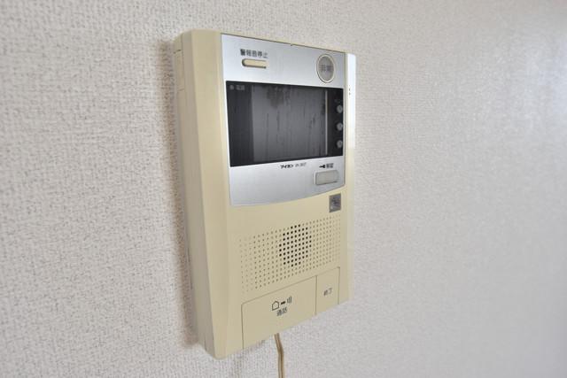 ブルーメンハウス TVモニターホンは必須ですね。扉は誰か確認してから開けて下さいね
