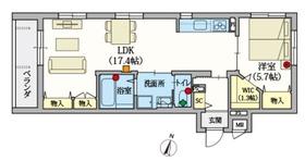 (シニア限定)ヘーベルVillage井荻2階Fの間取り画像