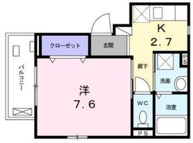 プラムマリー相模大塚2階Fの間取り画像