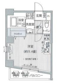 FIORE KOMAGOME4階Fの間取り画像