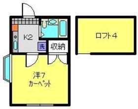 上星川駅 徒歩14分1階Fの間取り画像
