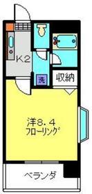 日吉駅 徒歩7分3階Fの間取り画像