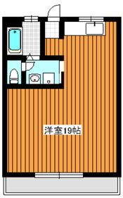 成増駅 徒歩2分7階Fの間取り画像