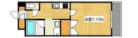 ジュネス天領 Ⅱ10階Fの間取り画像