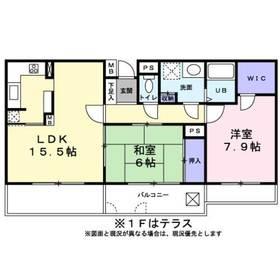 SH MANSION本鵠沼1階Fの間取り画像