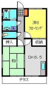 新羽駅 徒歩17分1階Fの間取り画像