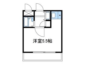 ヴァンハウス小田急相模原1階Fの間取り画像