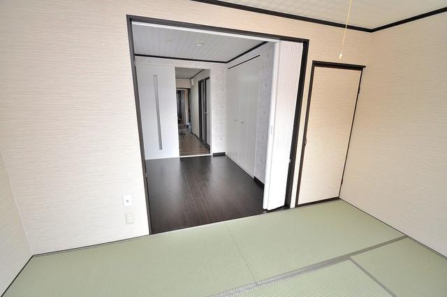 大同マンション もうひとつのくつろぎの空間、和室も忘れてません。