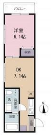 ピアコートTM東伏見弐番館3階Fの間取り画像