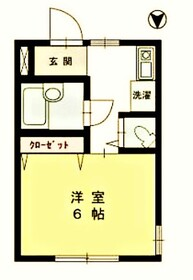 生田駅 徒歩7分1階Fの間取り画像
