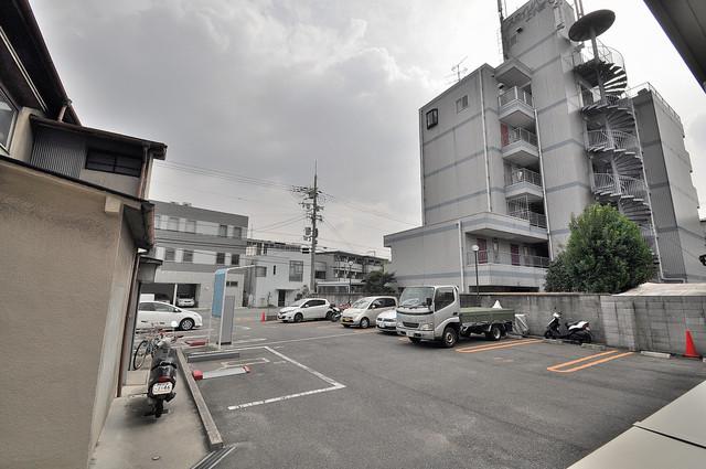 エクレール上小阪 この見晴らしが日当たりのイイお部屋を作ってます。