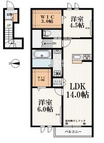 (仮称)栄5丁目メゾン2階Fの間取り画像