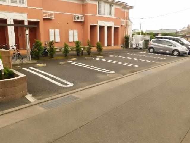 シャンモルティ駐車場