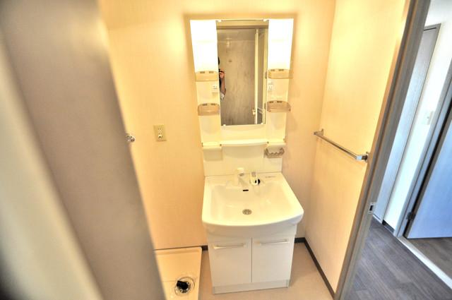 フルラーレ 人気の独立洗面所はゆったりと余裕のある広さです。