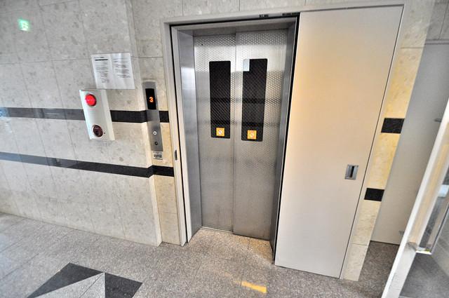 ルミエール八戸ノ里 嬉しい事にエレベーターがあります。重い荷物を持っていても安心