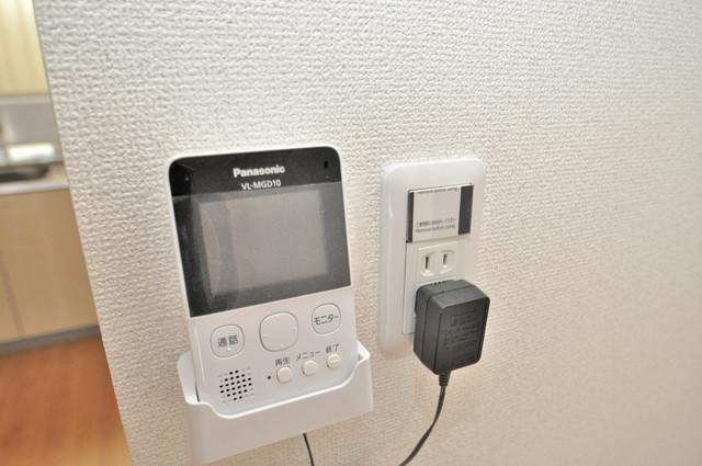 長田3-1-35 貸家 TVモニターホンは必須ですね。扉は誰か確認してから開けて下さいね