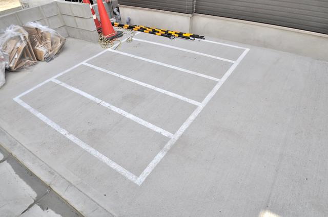ブライト近大前 敷地内には専用の駐輪スペースもあります。