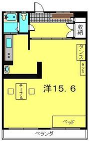 塚越住宅5階Fの間取り画像
