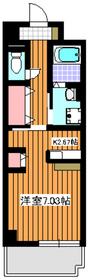 クラール和光3階Fの間取り画像