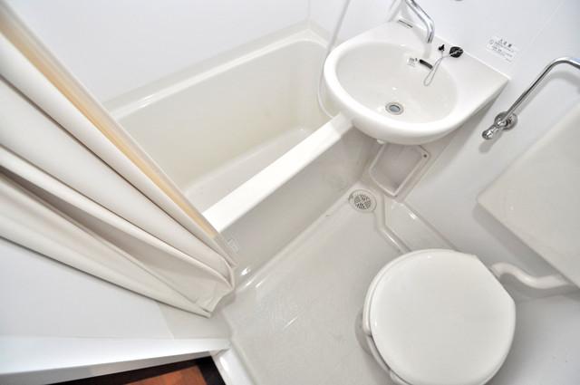 ニッコーハイツ俊徳 機能的なトイレになっています。