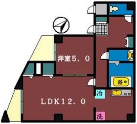 LEO7番館3階Fの間取り画像