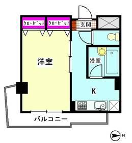 K2ヴィラ 406号室