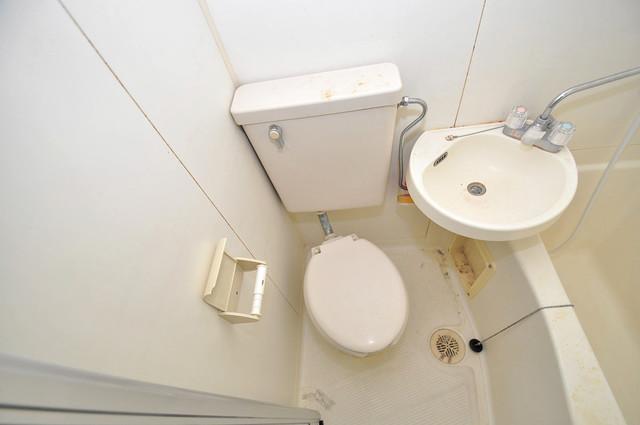 川辺287ビル シャワー1本で水回りが簡単に掃除できますね。