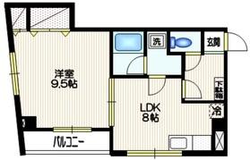 S.K.レジデンス3階Fの間取り画像