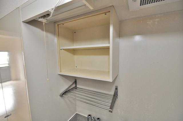 エクセルシオール長田 キッチン棚も付いていて食器収納も困りませんね。