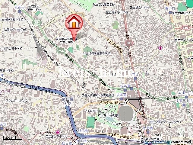 Glanz小石川案内図