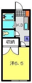 鵜の木駅 徒歩35分1階Fの間取り画像