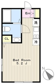 高座渋谷駅 徒歩28分2階Fの間取り画像