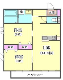 ロイズ ブルー 302号室