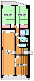 東武練馬駅 徒歩14分3階Fの間取り画像