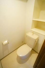 うれしい棚付トイレ