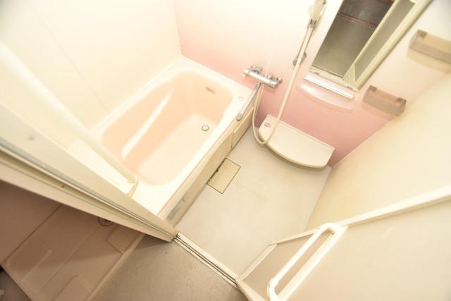 巽北1-29-14 貸家 ちょうどいいサイズのお風呂です。お掃除も楽にできますよ。