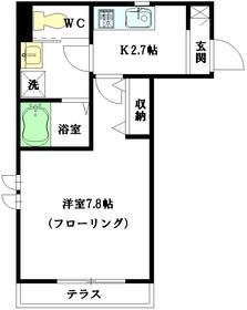 アザレア高円寺1階Fの間取り画像