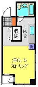 メゾンド・弘明寺2階Fの間取り画像