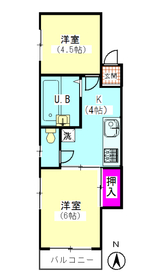 パル萩中 305号室